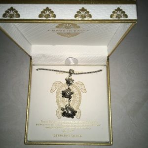 COPY -🐢NWT Sterling Silver Triple Turtle Necklace